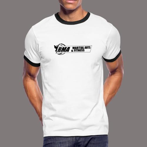 RMA-full-logo-Front-1clr- - Men's Ringer T-Shirt