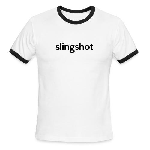 SlingShot Logo - Men's Ringer T-Shirt