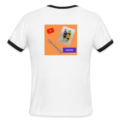 Luke Gaming T-Shirt - Men's Ringer T-Shirt