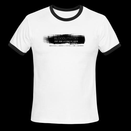 Bloodlit Radio 3 - Men's Ringer T-Shirt