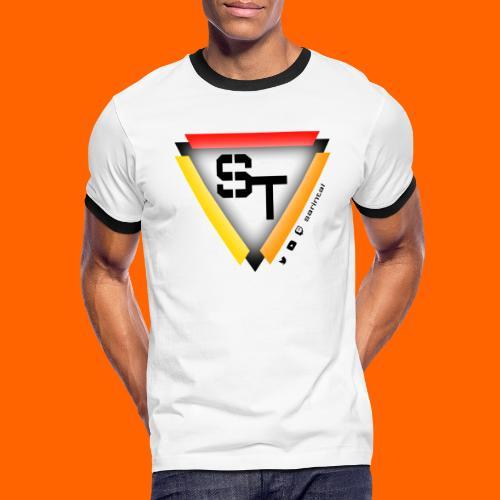 SarinTal Logo - Men's Ringer T-Shirt