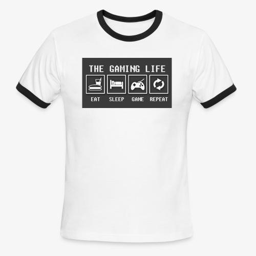 Gaming is life - Men's Ringer T-Shirt