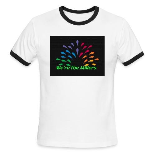 We're the Millers logo 1 - Men's Ringer T-Shirt