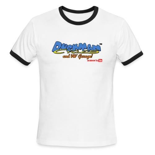 DuckmanCycles and VWGarage - Men's Ringer T-Shirt