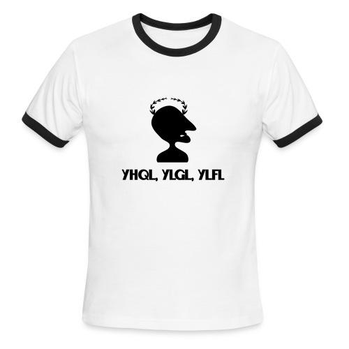 Caesar Cipher - Men's Ringer T-Shirt