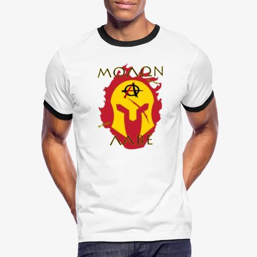 Molon Labe - Anarchist's Edition - Men's Ringer T-Shirt