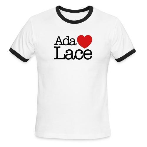 Ada Lovelace - Men's Ringer T-Shirt