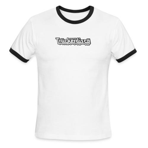 TRUCKERDISCO Men's Ringer T-shirt - Men's Ringer T-Shirt
