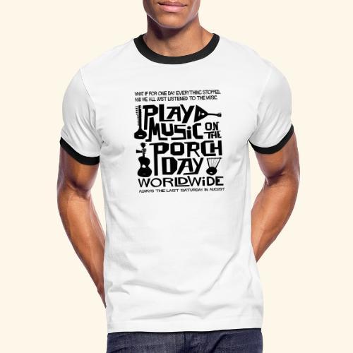 PMOTPD2021 SHIRT - Men's Ringer T-Shirt