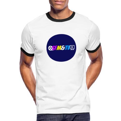 SFM&TV   ScienceFictionMoviesTV.Com - Men's Ringer T-Shirt
