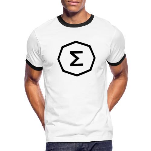 Ergo Symbol - Men's Ringer T-Shirt