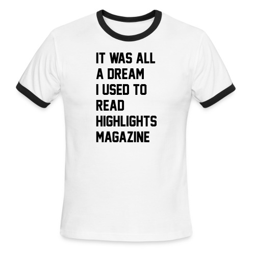 JUICY 1 - Men's Ringer T-Shirt