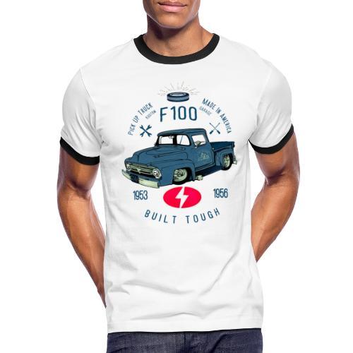 F100 Built Tough - Men's Ringer T-Shirt