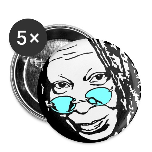 WHOOPI - Buttons large 2.2'' (5-pack)