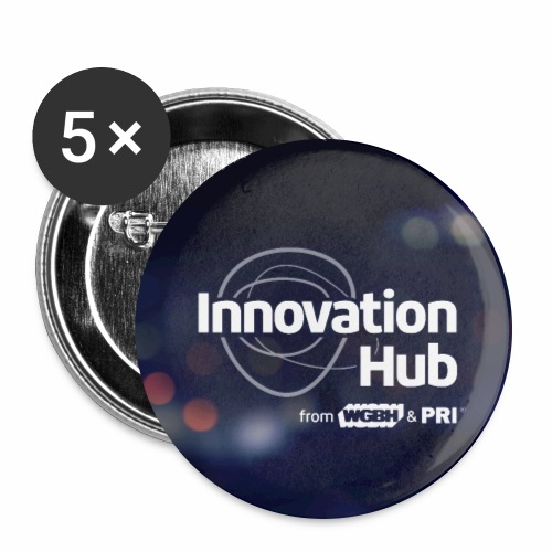 Innovation Hub button with color - Buttons large 2.2'' (5-pack)