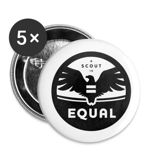 ascoutisequal png - Buttons large 2.2'' (5-pack)