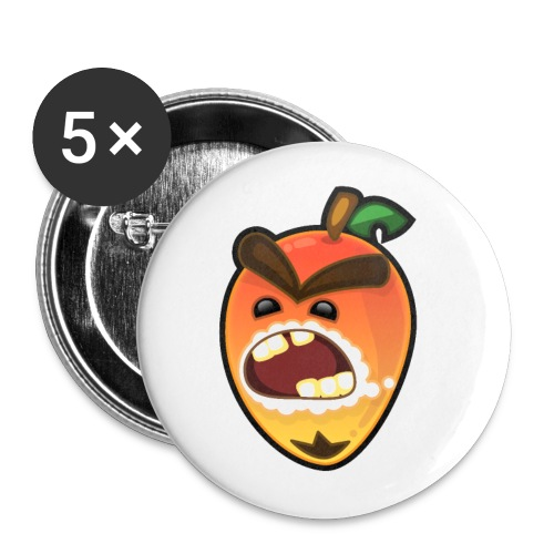 The Rabid Mango - Buttons large 2.2'' (5-pack)