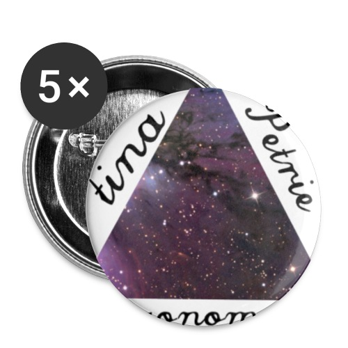 TinaPetrie_Logo - Buttons large 2.2'' (5-pack)