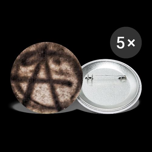 ANARCHY SIDEWALK PHOTO - Buttons large 2.2'' (5-pack)