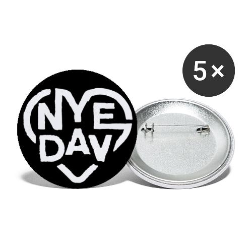 Nyedav Pin - Buttons large 2.2'' (5-pack)