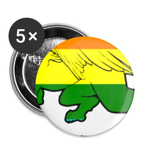 Esfinges Pride - Buttons large 2.2'' (5-pack)