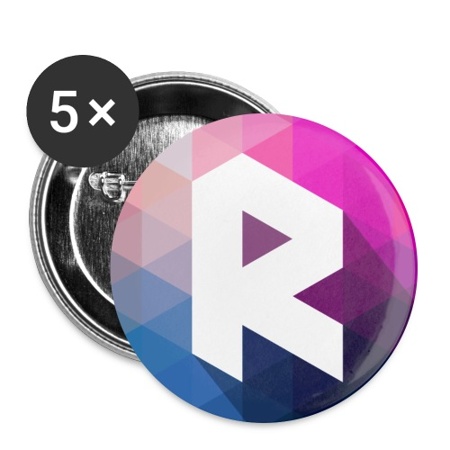 radiant new png - Buttons large 2.2'' (5-pack)