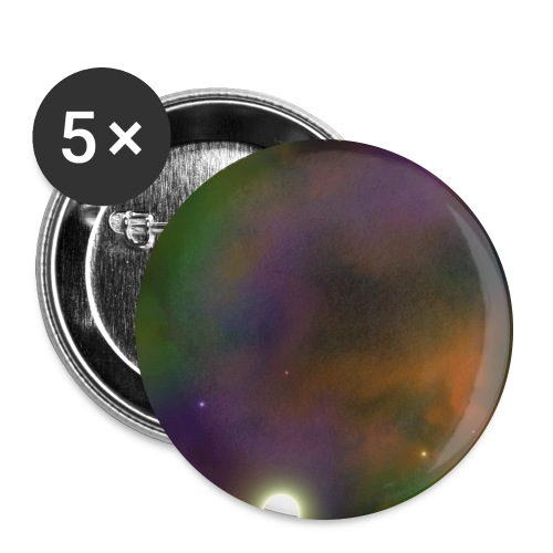 Space Envy - Buttons large 2.2'' (5-pack)