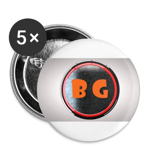LOGO png - Buttons large 2.2'' (5-pack)