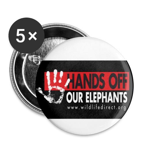 WLD bumperSticker jpeg - Buttons large 2.2'' (5-pack)