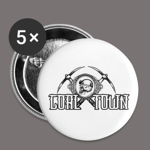Coal Town Logo - Large Buttons