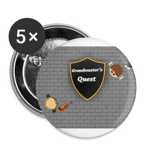 grandmasterquest jpg - Buttons large 2.2'' (5-pack)