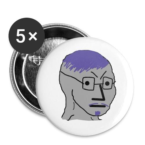 Neville Percival Croft - Buttons large 2.2'' (5-pack)