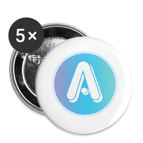 Amplify Logo 1 - Buttons large 2.2'' (5-pack)