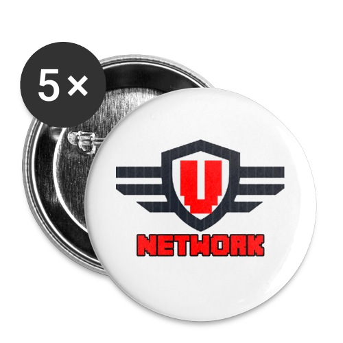 Ventus Network v1.0 Logo - Buttons large 2.2'' (5-pack)