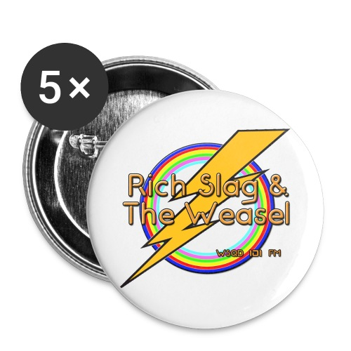 RICH SLAG - Buttons large 2.2'' (5-pack)