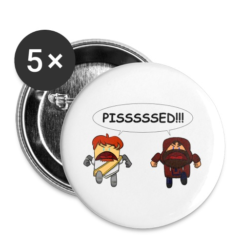 Adventure Lads Pissssed - Buttons large 2.2'' (5-pack)