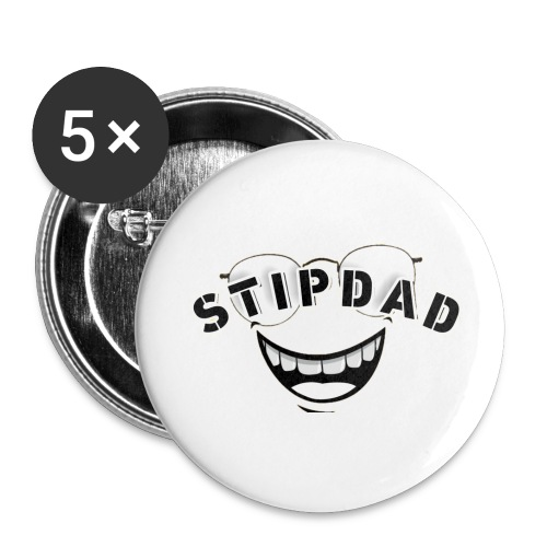 STIPDAD GEAR - Buttons large 2.2'' (5-pack)