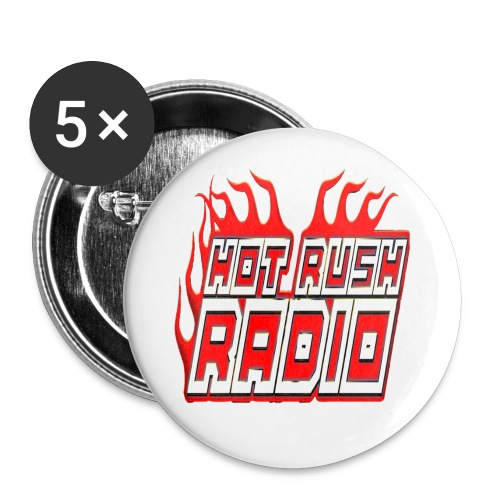 worlds #1 radio station net work - Buttons large 2.2'' (5-pack)