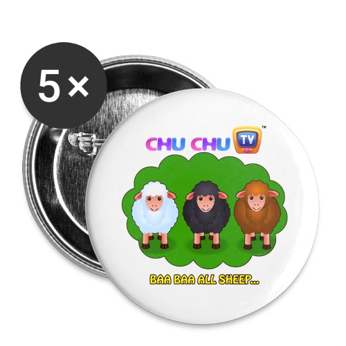 Motivational Slogan 4 - Buttons large 2.2'' (5-pack)