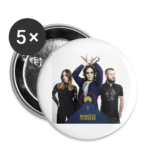 Mantis and the Prayer - Pyramid Design - Buttons large 2.2'' (5-pack)