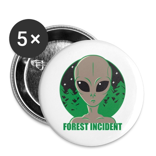 FOREST INCIDENT - Buttons large 2.2'' (5-pack)