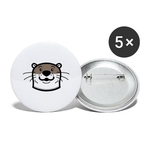 TNC Otter - Buttons large 2.2'' (5-pack)