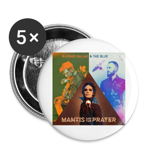 Murder Ballad & The Blue - Buttons large 2.2'' (5-pack)