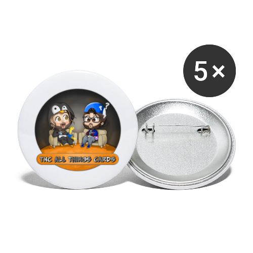 All Things Cards - Buttons large 2.2'' (5-pack)