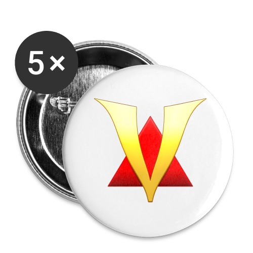 VenturianTale Logo - Buttons large 2.2'' (5-pack)