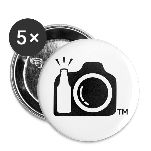 camblack - Buttons large 2.2'' (5-pack)