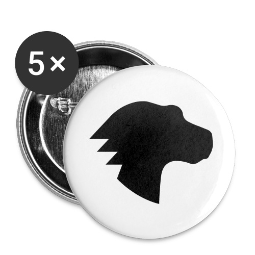Dino - Buttons large 2.2'' (5-pack)