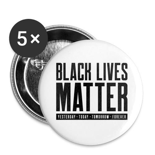 Black Lives Matter - Buttons large 2.2'' (5-pack)