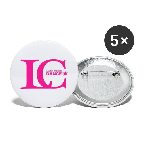 LCDance Pink - Buttons large 2.2'' (5-pack)