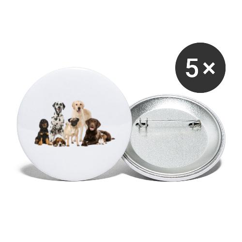 German shepherd puppy dog breed dog - Buttons large 2.2'' (5-pack)